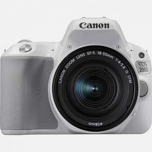 Фотоаппарат цифровой Canon EOS 200D 18-55 IS STM White